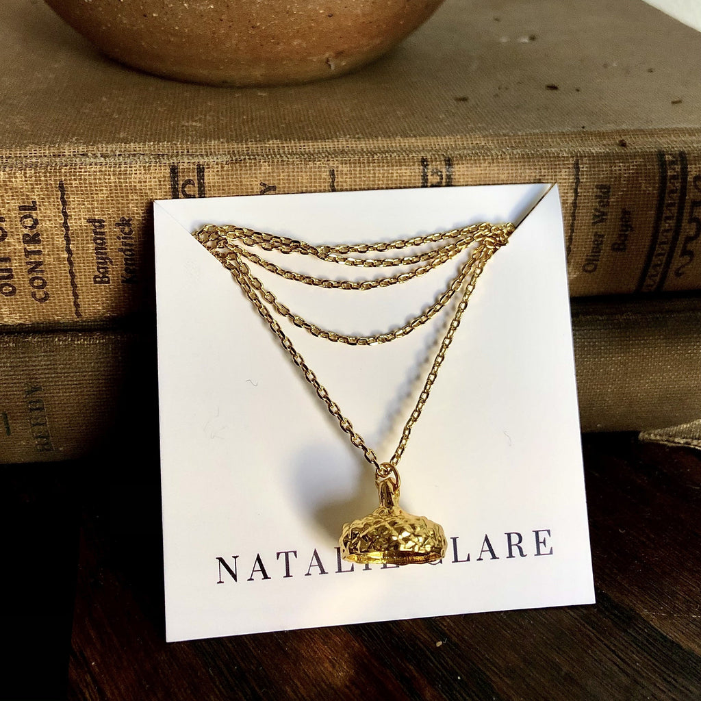 Natalie Clare Acorn Necklace