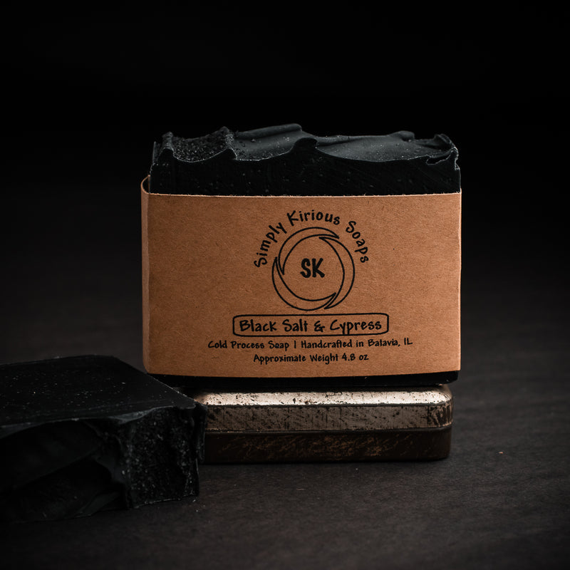 Black Salt & Cypress Soap