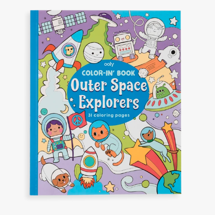 Colorin' Book Outer Space Explorers