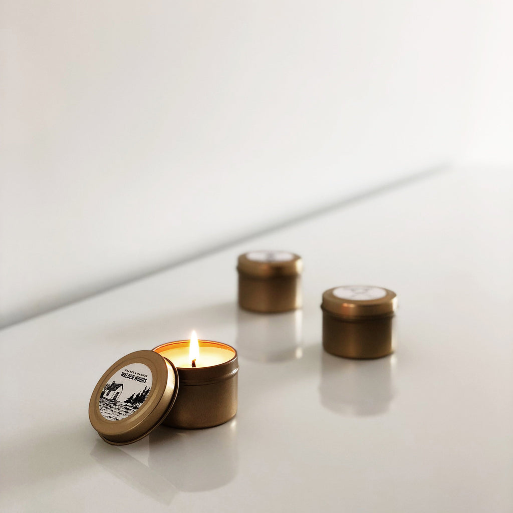 Travel Candle Tin Trio