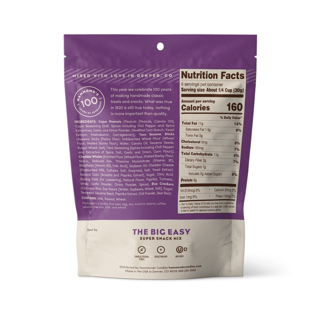 Snack Mixes The Big Easy 6.5oz