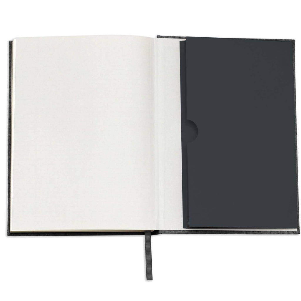 Black Linen Note to Self Journal