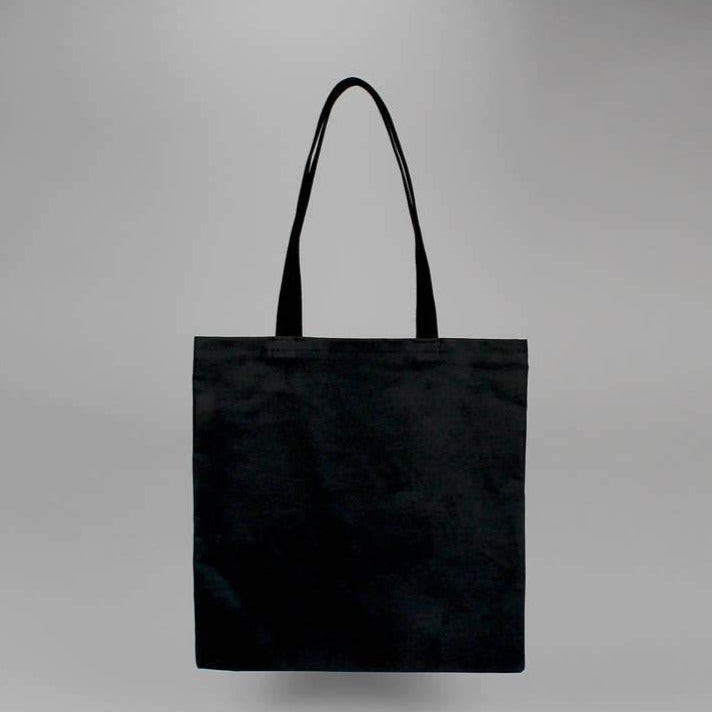 Waxed Standard Tote — Black