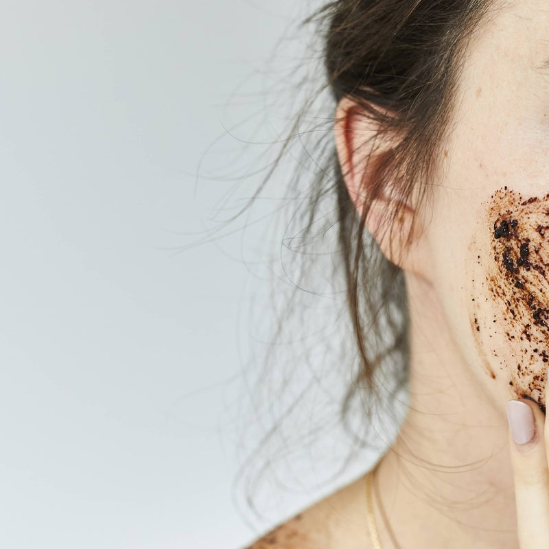Coffee Citrus Face Scrub