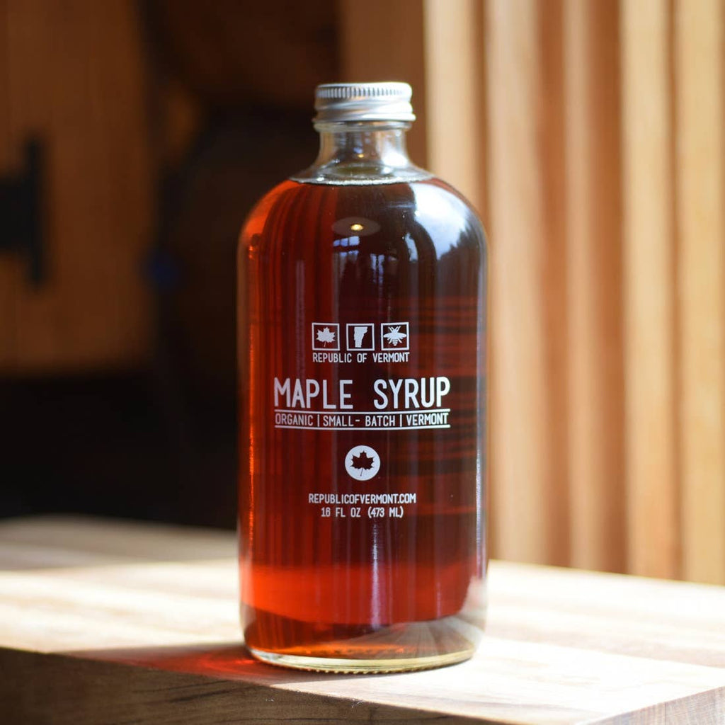 Certified Organic Maple Syrup