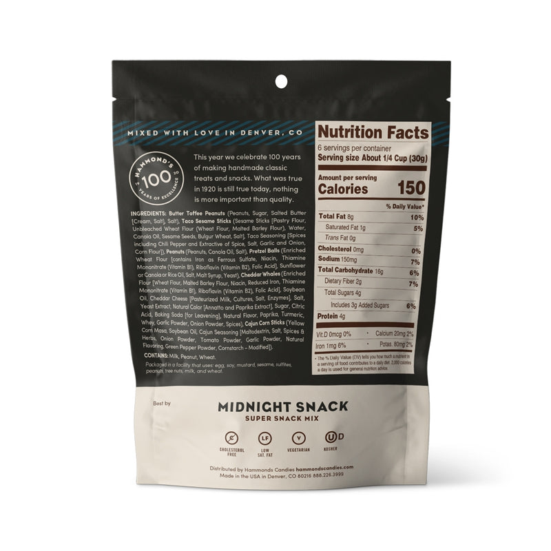 Snack Mixes Midnight Snack 6.5oz