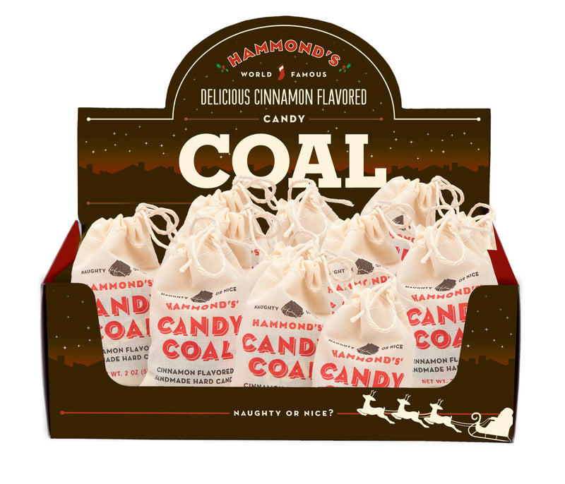 Coal Cinnamon w/ Display 2oz