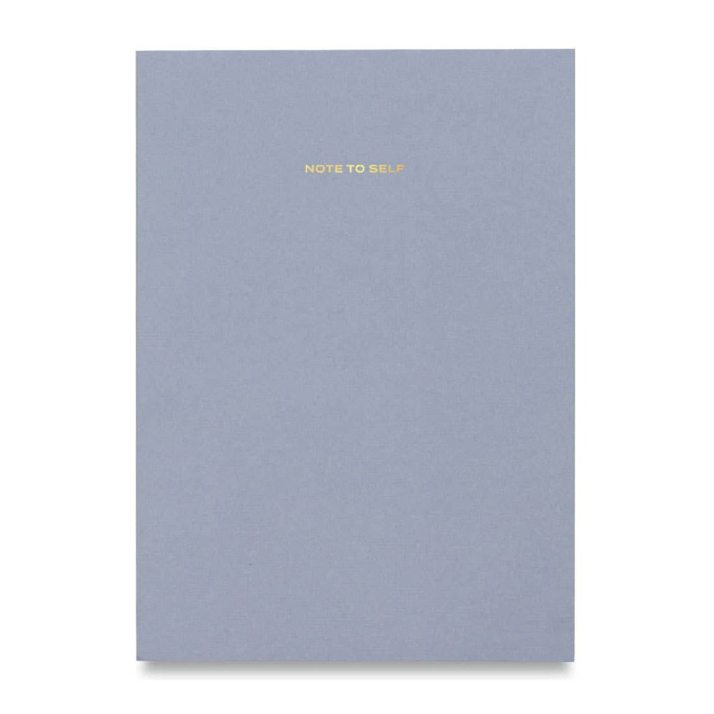 Light Blue Note To Self Journal