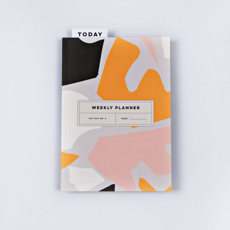 Cut Out No. 2 Weekly Lay Flat Planner Book