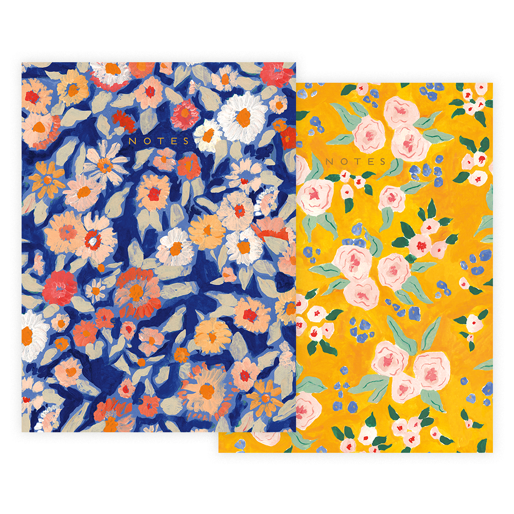 Wildflower Floral Notebook Set