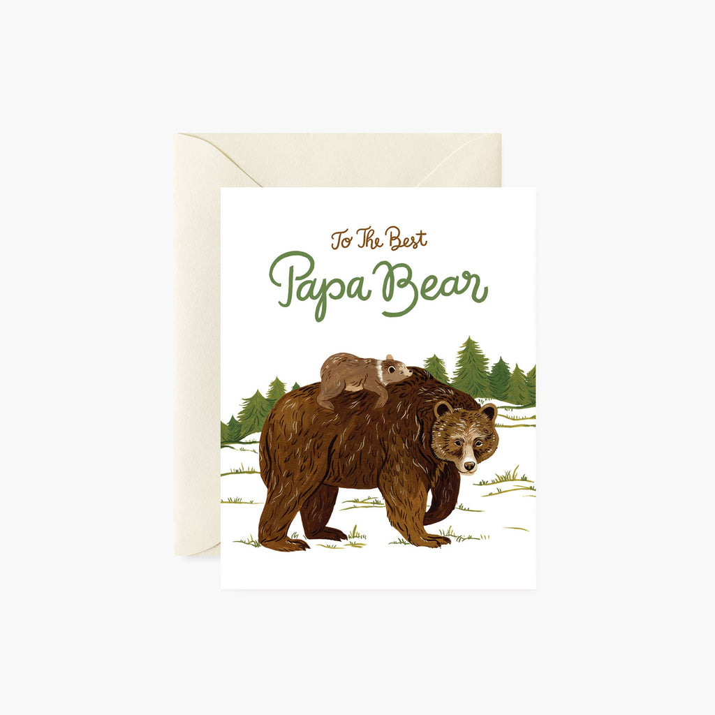 PAPA BEAR | Father's Day card