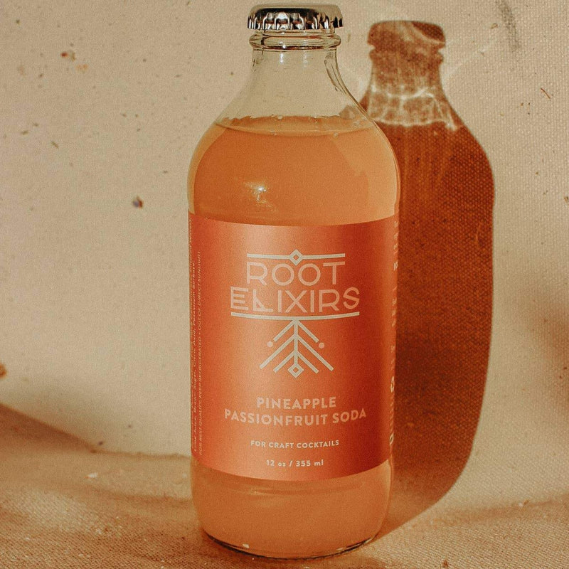 Root Elixirs Pineapple Passionfruit Mixer
