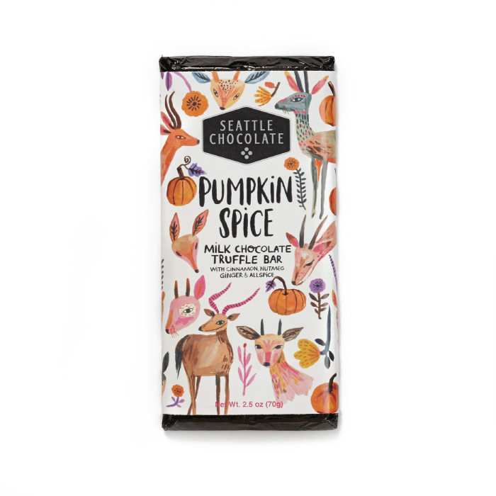 Pumpkin Spice Truffle Bar