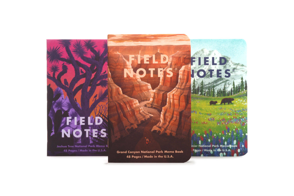 Field Notes - National Parks Series B