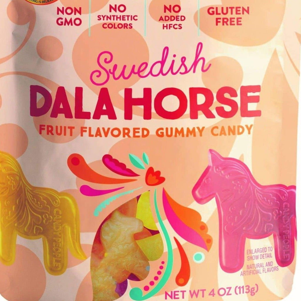 Swedish Dala Horse Gummy