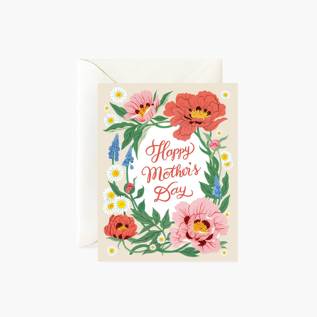 FLORAL |  Mother's Day card