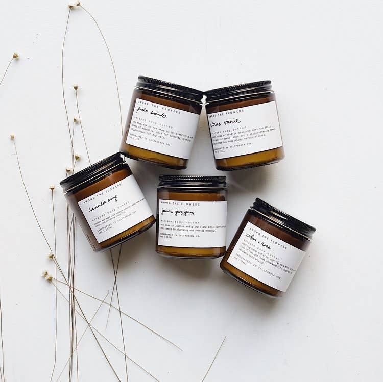 Among the Flowers - Milk + Honey Whipped Body Butter