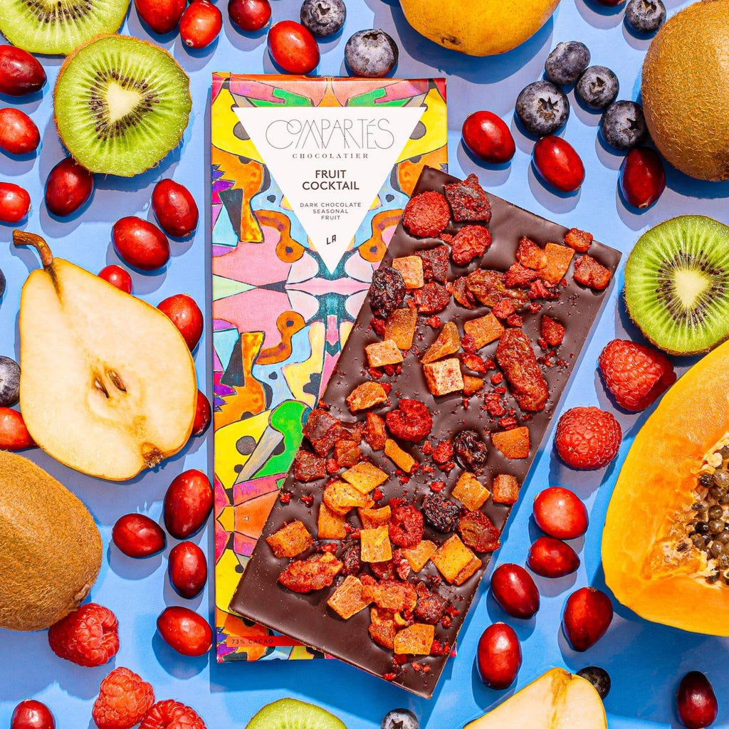Compartes Fruit Cocktail Chocolate Bar