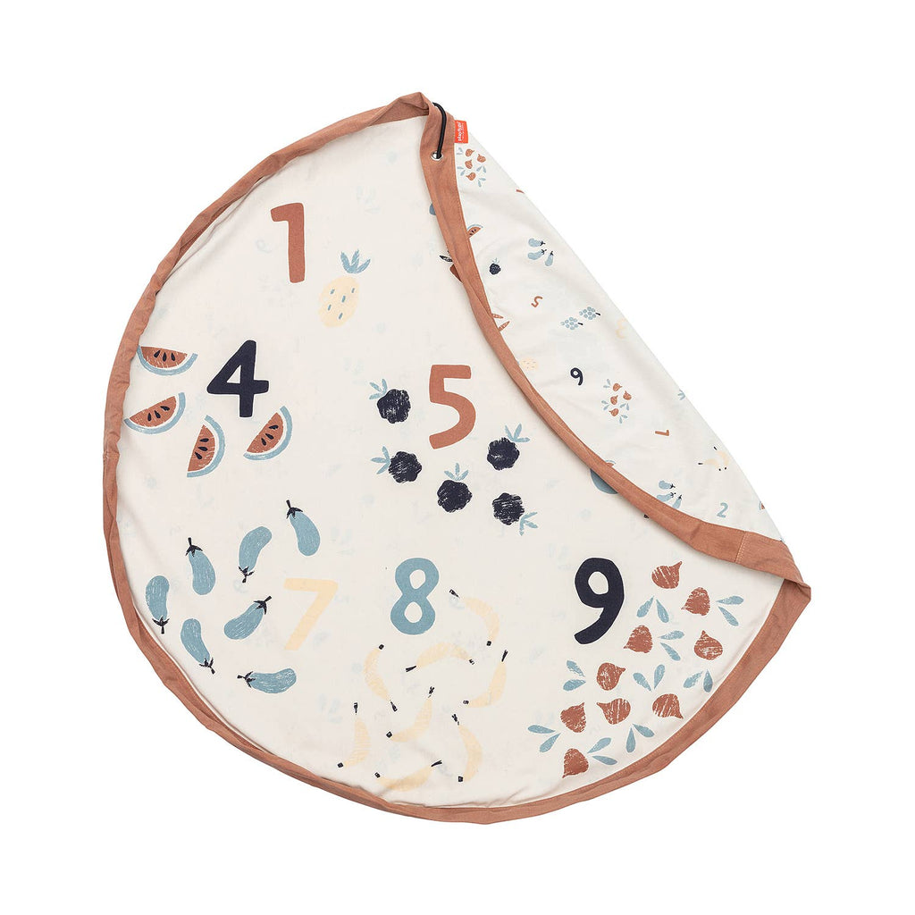 VEGGIE NUMBERS Playmat/Toy Storage Bag