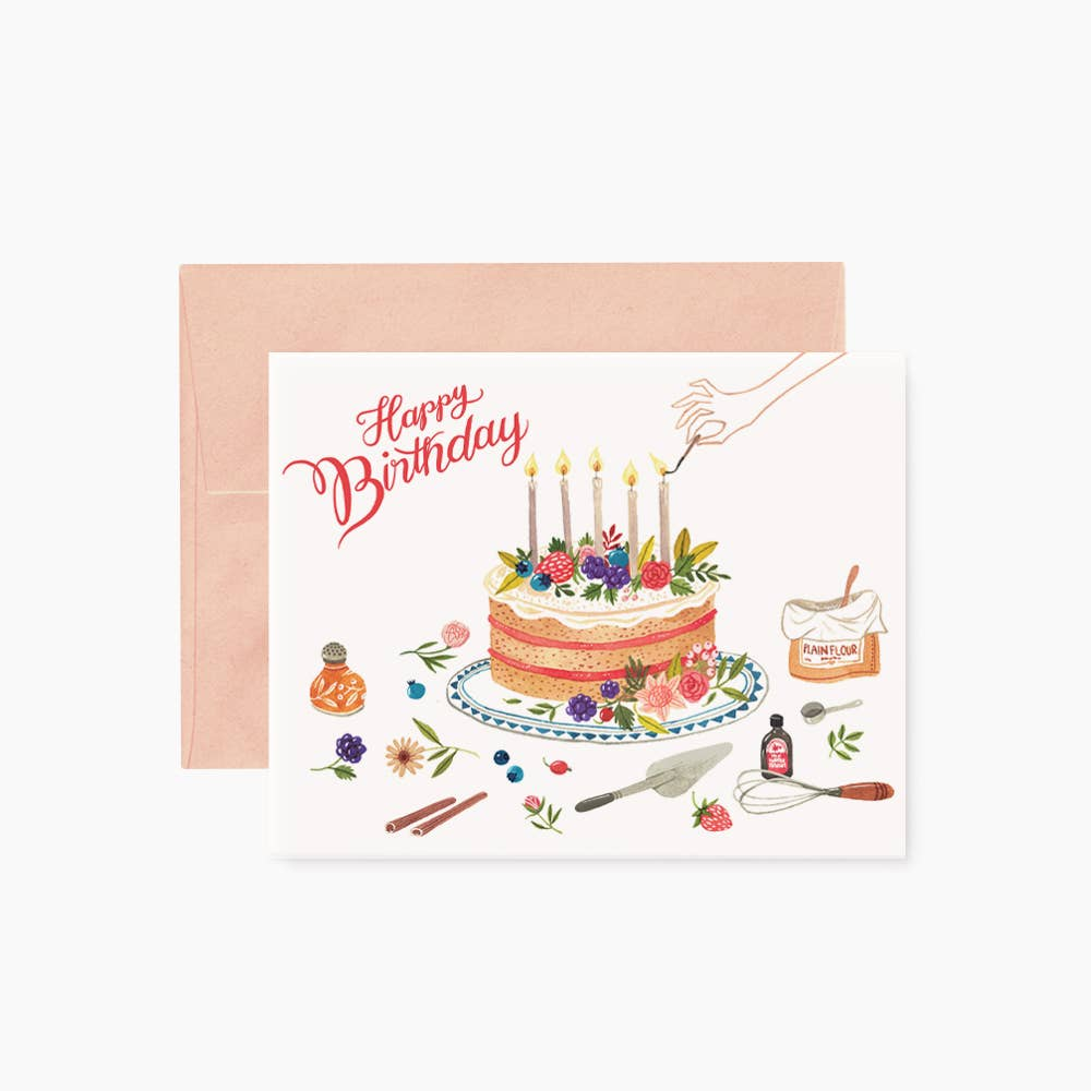 BIRTHDAY CAKE | greeting card