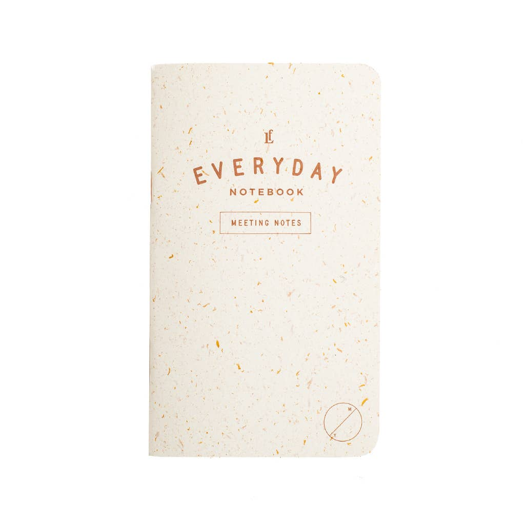 Everyday Meeting Notes Notebook 2-Pack
