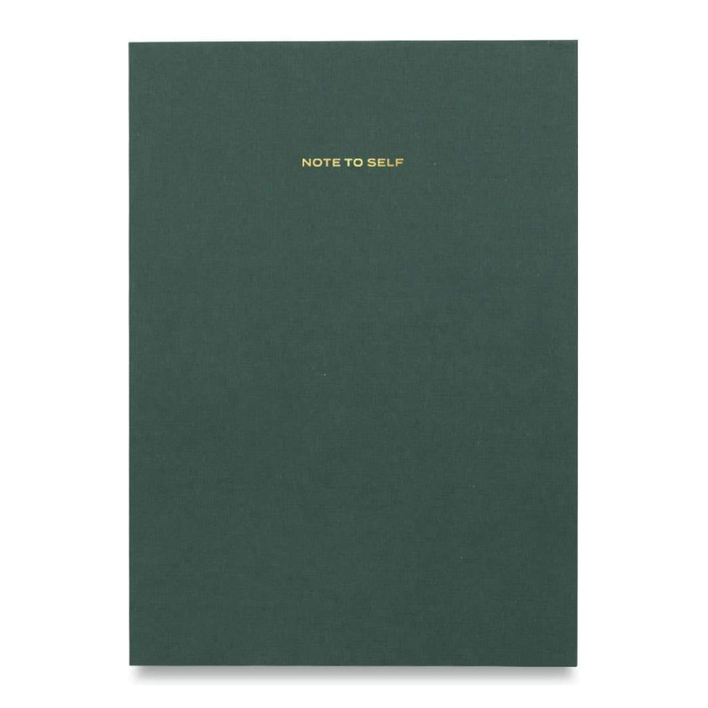 Green Note To Self Journal