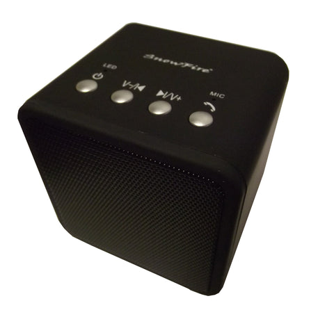 Bluetooth Portable Speaker Cube, Rechargeable, Black