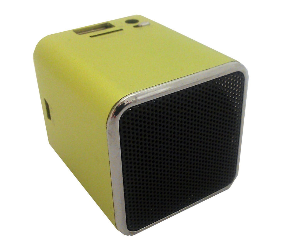 Mini Portable Speaker, Rechargeable, Green