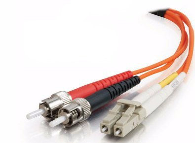 15 Meter, LC/ST Fiber Optic 62.5/125 Multi-Mode