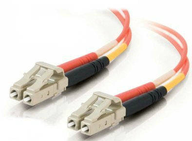 8 Meter, LC/LC Fiber Optic 62.5/125 Multi-Mode