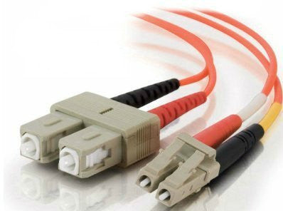 5 Meter, LC/SC Fiber Optic 62.5/125 Multi-Mode