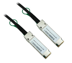 1M 40G Base-T QSFP+ Passive Twinax Copper Cable 30AWG 3 Feet