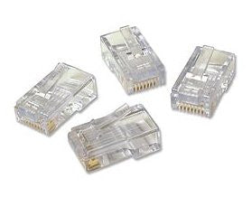 RJ45 Ends Connectors - 100 Pack