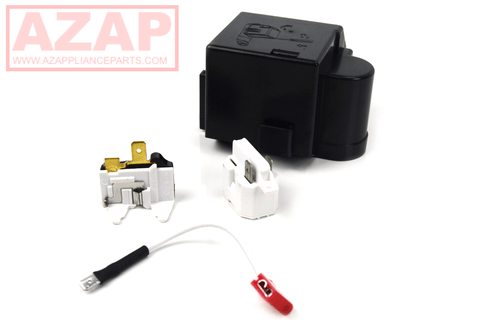 12002782 Relay Overload Kit 61005518 PS2004057 Fits Whirlpool Kenmore AP4009659