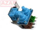 4318046 Ice Maker Water Valve Inlet AP3103466 Dual Coils for Kenmore Whirlpool - AZ Appliance Parts