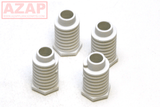 49621 Dryer Leveling Legs 4 Pack W10823505 for Kenmore Whirlpool AP4295805 - AZ Appliance Parts