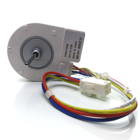 WR60X10209 Refrigerator Evaporator Fan Motor for General Electric AP4265957, PS1483567