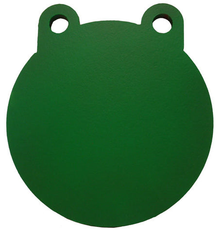 "Steel Target 8"" AR500 3/8"" Thick Two Hole Round Gong"
