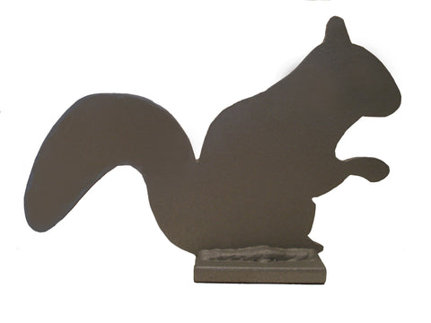 "Steel Target 6"" AR400 1/4"" Thick - Squirrel Knockover"