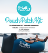 WindPouch GO Patch Kit Inflatable Ground Hammock Blow Up Seat Air Lounger Inflatable Couch