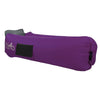 Royal Purple Side View WindPouch GO Inflatable Ground Hammock Blow Up Seat Air Lounger Inflatable Couch