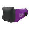 Royal Purple Headrest WindPouch GO Inflatable Ground Hammock Blow Up Seat Air Lounger Inflatable Couch