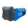 Cool Blue Headrest WindPouch GO Inflatable Ground Hammock Blow Up Seat Air Lounger Inflatable Couch