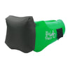 Emerald Green Headrest WindPouch GO Inflatable Ground Hammock Blow Up Seat Air Lounger Inflatable Couch