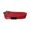 Imperial Red WindPouch GO Inflatable Ground Hammock Blow Up Seat Air Lounger Inflatable Couch