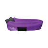 Royal Purple WindPouch GO Inflatable Ground Hammock Blow Up Seat Air Lounger Inflatable Couch