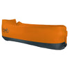 WindPouch Lite Ember Orange Inflatable Ground Hammock Blow Up Seat Air Lounger Inflatable Couch