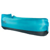 WindPouch Lite Seaside Blue Inflatable Ground Hammock Blow Up Seat Air Lounger Inflatable Couch
