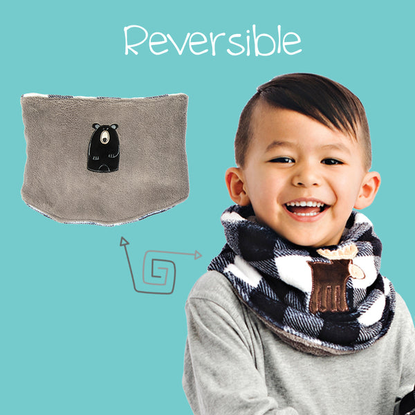 Reversible Kids Neck Warmers