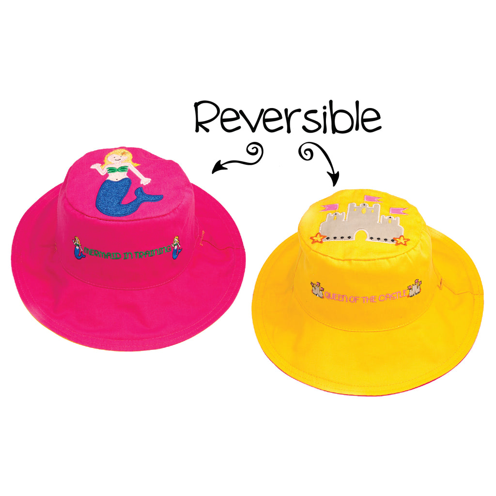 Our little girl recently lost her treasured FJK flip UV protective summer  hat design type sandcastle mermaid...Our little one is very distressed  because she ... d68bb0f9bdd3